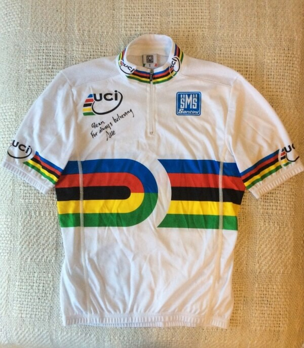 Sue Powell World Champions Jersey